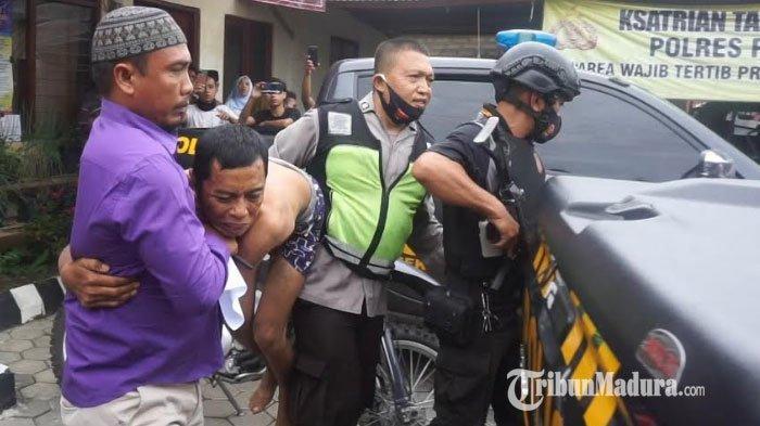 Pencuri Motor di Pegantenan Pamekasan Ditangkap Warga, Sempat Kabur Namun Akhirnya Tertangkap Massa
