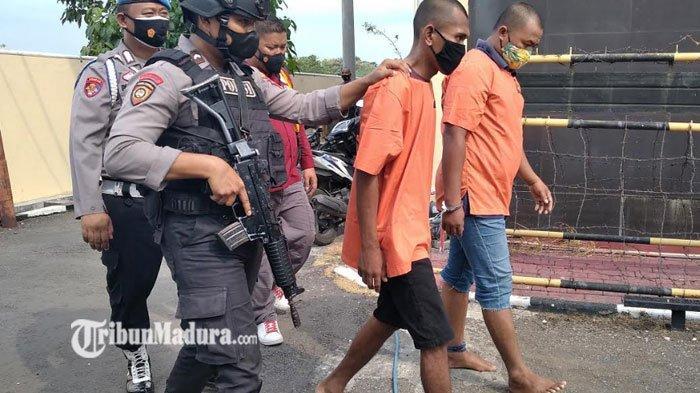 Dua Pria ini Terpaksa Lebaran di Penjara Akibat Mencuri Motor, Total 16 Motor Jadi Barang Bukti