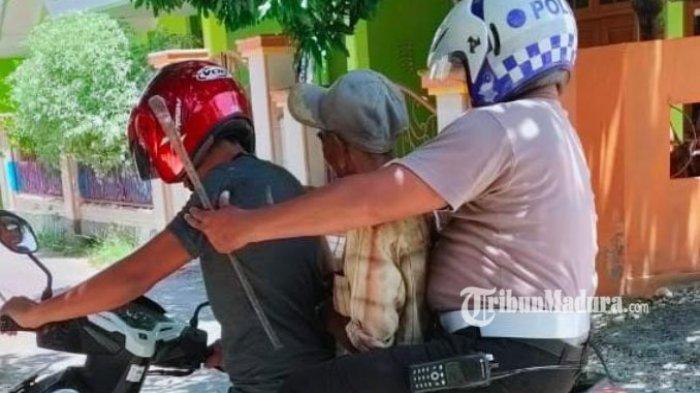 Pria Pamekasan Kepergok Mencuri di Rumah Warga, Berawal dari Kepala yang Nongol di Tembok Berlubang