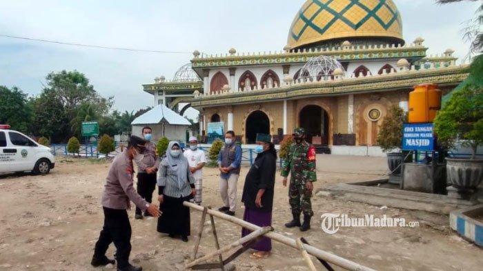 Satgas Covid-19 Perketat Pengawasan Penerapan Protokol Kesehatan di Tempat Wisata Religi Bangkalan