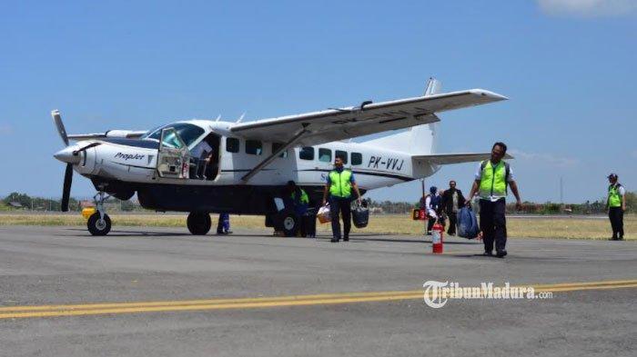 Bandara Trunojoyo Sumenep Kembali Layani Penerbangan Pesawat, Ini Rute Perjalanan yang Dibuka