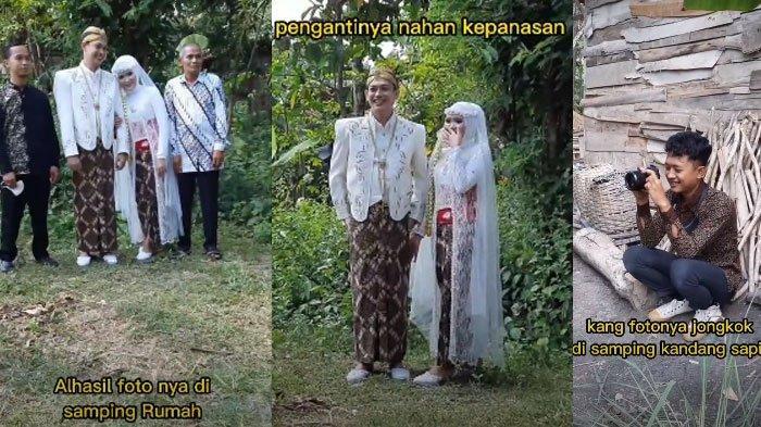 Pengantin Viral Menikah Tanpa Dekorasi, Sampai Bikin Fotografer Bingung, Simak Kisah di Baliknya