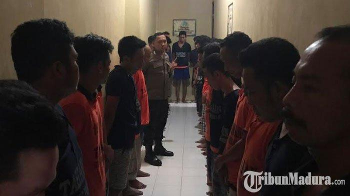 Polres Pamekasan Lakukan Pengecekan Tahanan di Rutan, Pastikan Para Tahanan Tidak Ada yang Kabur