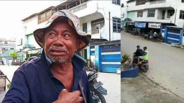 VIRAL Pengemis Tua Dijambret 2 Pemuda di Pinggir Jalan, Padahal Uangnya Buat Beli Kain Kafan Korban