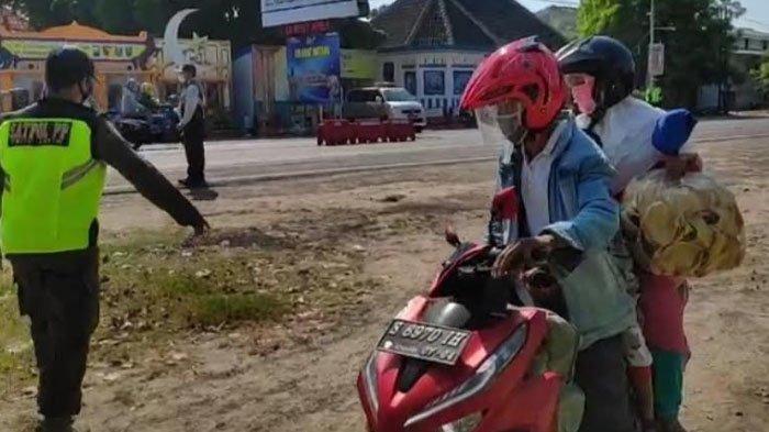 Gerutu Pengendara Dipaksa Putar Balik di Perbatasan Jatim-Jateng: Saya Cuma Mau ke Kecamatan Sebelah
