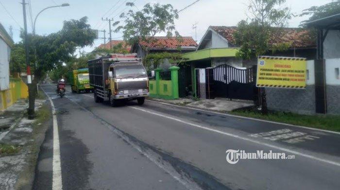 Ada Perubahan Arus Sejumlah Jalan Raya di Sampang, Satlantas Polres Sampang Tindak Tegas Pelanggar