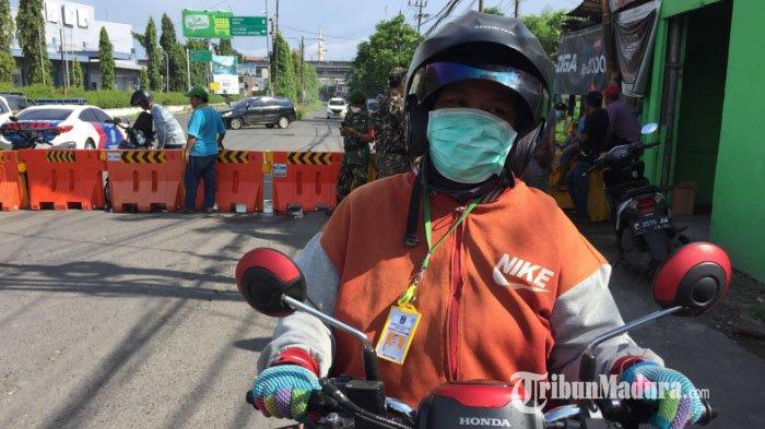 Tak Tahu Akses Masuk Surabaya dari Pondok Tjandra Ditutup, Banyak Pengendara Motor Kecele