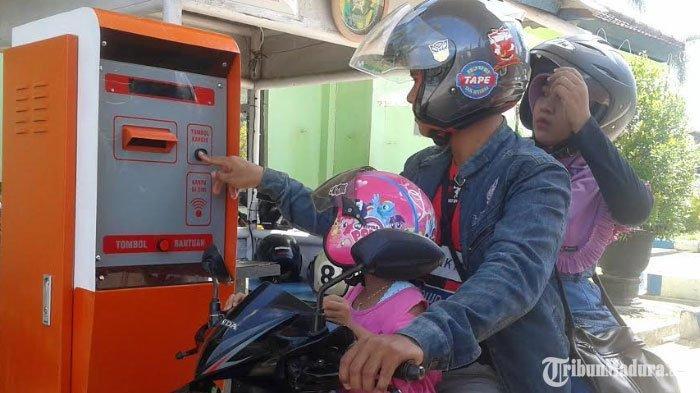 Portal Parkir Elektrik RSUD Dr H Slamet Martodirdjo Pamekasan Sumbang PAD Rp 720 Juta dalam Setahun