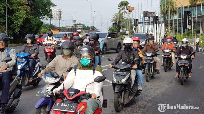 Jumlah Pelanggar Aturan PSBB Surabaya Menurun pada Hari Kedua Dibanding Hari Pertama Pelaksanaan