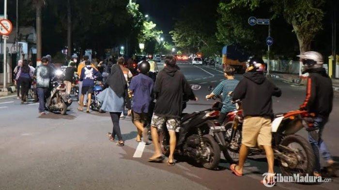 AjangLiar di Kota Blitar Didatangi Polisi,59 Unit Sepeda Motor Diamankan dari Sejumlah Lokasi