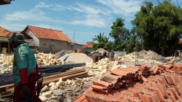 Disdik Sampang Berharap Proyek Bantuan Rehabilitasi Gedung Sekolah dari Pusat Selesai Tepat Waktu