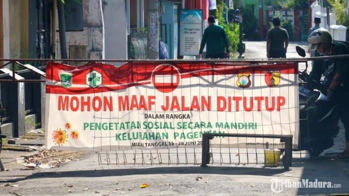 Pengetatan Sosial Secara Mandiri di Singosari Malang Berakhir, Apa Pengaruh dengan Kasus Covid-19?