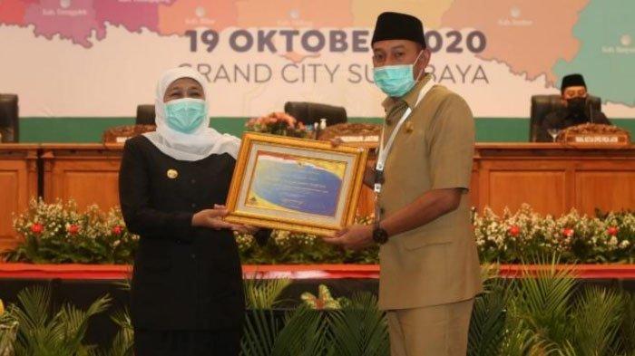 Sampang Kembali Terima Penghargaan Opini WTP dari Kementerian Keuangan, Diberikan Gubernur Jatim