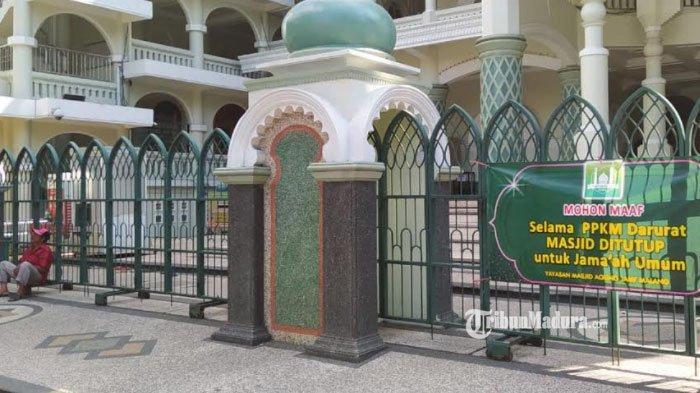 Masjid Agung Malang Tak Gelar Salat Idul Adha Berjemaah, Pelaksanaan Salat Terbatas untuk Internal