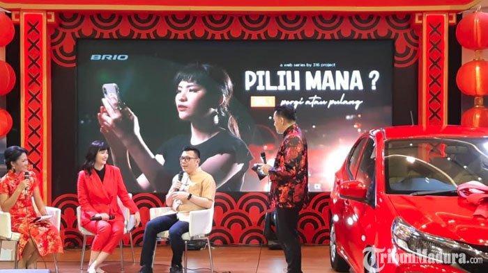 Honda Surabaya Center Kenalkan Fitur Brio dalamWeb Series di Kanal Digital Gaet Pengguna Milenial