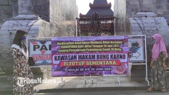 Pengunjung dari Luar Kota Banyak yang Kecele Makam Bung Karno Ditutup Tiga Hari, ini Penjelasannya