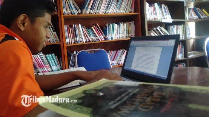 Anggaran Pembelanjaan Buku di Disarpus Sampang Dipangkas Hingga 40 Persen Akibat Pandemi
