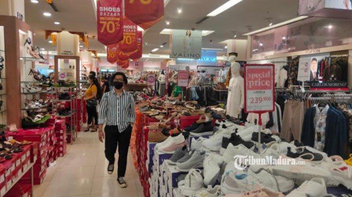 Mendekati Hari Raya Idul Fitri 2021, Jumlah Pengunjung Pusat Perbelanjaan di Kota Malang Meningkat