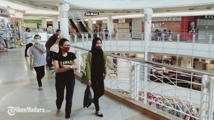 Hari Pertama PSBB Surabaya Tahap 3, Mall Royal Plaza danTunjungan Plaza Banyak Didatangi Pengunjung