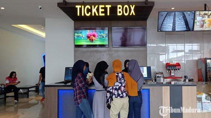 Ribuan Tiket Nonton Bioskop Kota Cinema MallPamekasan Ludes Terjual pada Hari Perdana Pembukaan