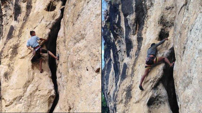 Tebing Maha Waru Cok Gunung Jadi Surga Pemanjat Tebing, FPTI Minta Pemkab Siapkan SOP Keselamatan