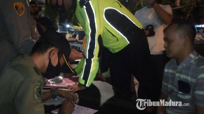 Operasi Yustisi di Sampang Sasar Pelanggar Protokol Kesehatan di Taman, Toko Bunga, Swalayan & Cafe
