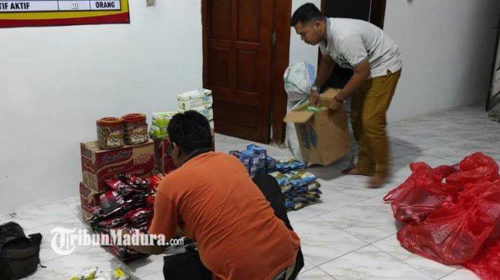FRPB Pamekasan Bagikan Bantuan 50 Paket Kebutuhan Pokok untuk Korban Bencana Gempa Bumi di Lumajang