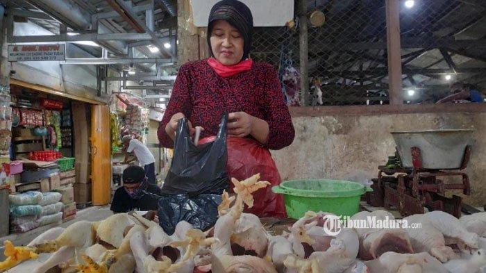 Harga Daging Ayam di Tuban Naik Jadi Rp35 Ribu Perkilo, Diprediksi Terus Meroket Jelang Lebaran 2021