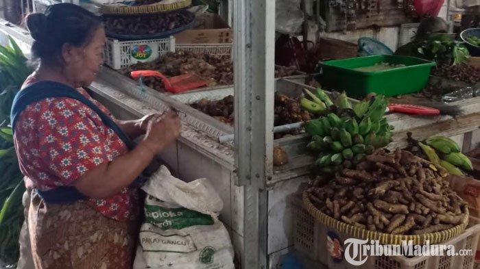Gara-Gara Virus Corona, Harga Empon-Empon Jahe Merah di Kota Madiun CapaiRp 60 RibuPer Kg