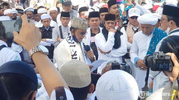 FPI Sumenep Tegaskan TolakRUU HIP saat Aksi Demo, Orator Massa Ungkap Alasan Kuat Sikap Penolakan