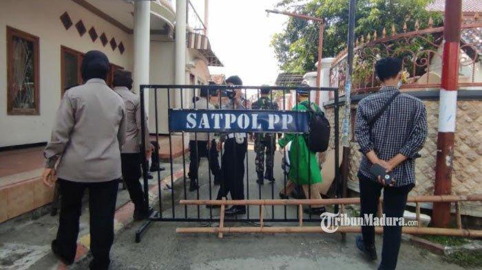 Akses Masuk Lingkungan Sidomulyo Mojokerto Ditutup, Puluhan Warga Setempat Terkonfirmasi Covid-19
