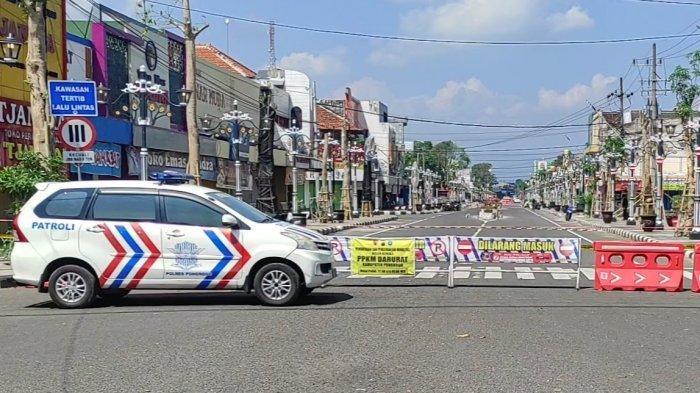 4 Ruas Jalan Utama di Kabupaten Ponorogo Ditutup 24 Jam Setiap Hari Minggu Selama PPKM Mikro Darurat