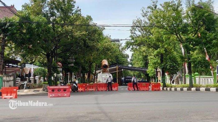 Jalan Pramuka Tuban Ditutup Dua Hari, Ada Pelaksanaan Gerakan Serentak Lawan Covid-19 di Gedung PMI