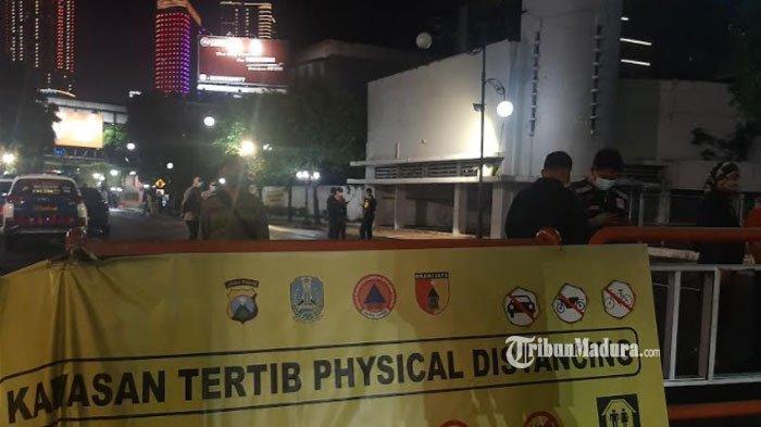 Jalan Tunjungan dan Jalan Darmo Surabaya Ditutup Dua Hari, Jaga Mobilitas Warga saat Masa PPKM