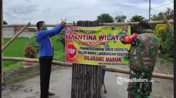 Satu Kampung di Kabupaten Ponorogo Ditutup, Ada 2 Pasien Covid-19 dan 10 Orang Lainnya Kontak Erat