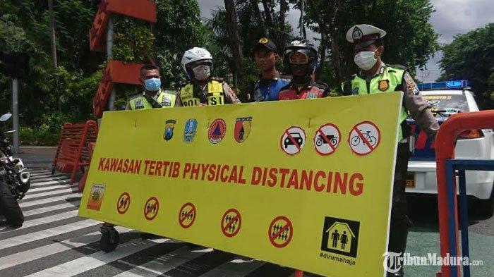 BREAKING NEWS -Jalan Darmo dan Jalan Tunjungan Surabaya Ditutup hingga Dua Pekan ke Depan