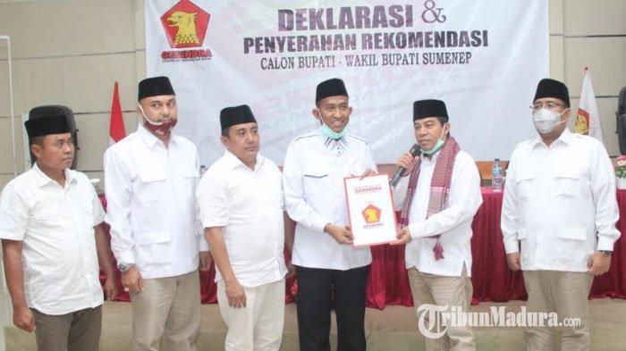 BREAKING NEWS: Gerindra Usung Fauzi-Eva di Pilkada Sumenep 2020, Ketua DPD Jatim: Ada Kesamaan Visi