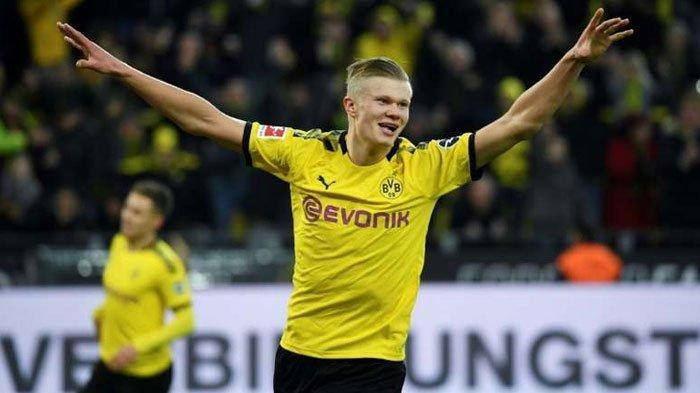 Harga Selangit Erling Haaland Bikin Dortmund Bakal Cuan, Barcelona, Real Madrid Hingga Chelsea Siap?