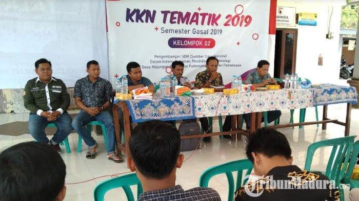 Kelompok Tani Desa Majungan Pamekasan DiberiPenyuluhan dan Sosialisasi Bibit Unggul Jagung Madura 3