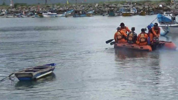 Pencarian Hari Kedua Nelayan Hilang di Laut Pantai Selatan Trenggalek Terkendala Gelombang Tinggi