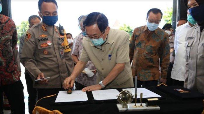 Polrestabes Surabaya Punya Gedung Baru Berlantai 2, Bangunan Khusus untuk LayananSKCK dan SPKT
