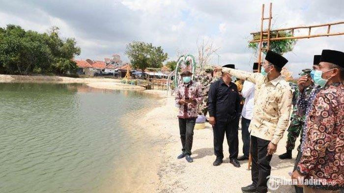 Bupati BangkalanResmikanWisata Tangguh Pantai Biru Tanjung Bumi, Pulihkan Ekonomi di Masa Pandemi