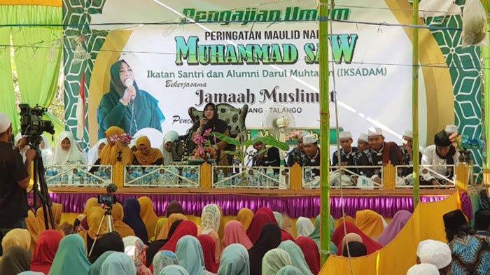 Peringatan Maulid Nabi Muhammad SAW, Iksadam dan Muslimat Desa Kombang Sumenep Gelar Pengajian