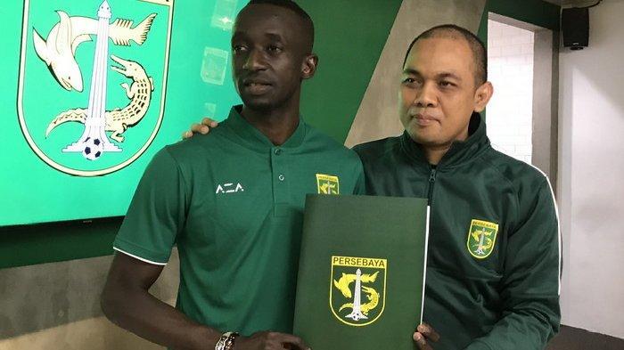 Makan Kanote Resmi jadi Pemain Persebaya, Langsung Bicara Peluang Bertemu Arema FC di Piala Gubernur