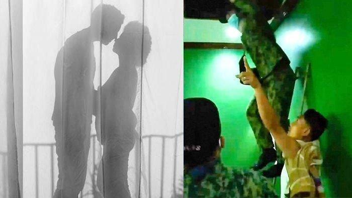 Suami Tangkap Basah Istri Selingkuh dengan Berondong, Istri Sembunyi di Loteng Motel saat Digerebek