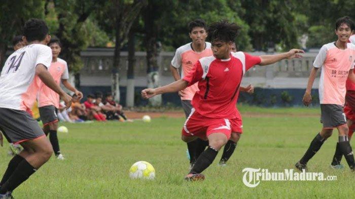 Persesa Sampang Raih Hasil Positif Saat Laga Melawan PS Unitomo, ini yang Diharapkan Pelatih