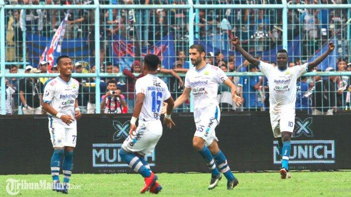Arema FC Vs Persib Bandung,Miljan Radovic Puji Mental dan Kerja Keras Pemain di Kandang Lawan