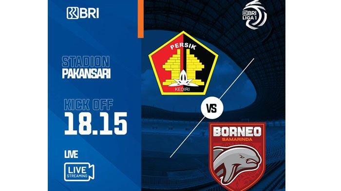 Persik Kediri Vs Borneo FC