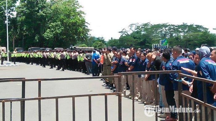 Arema FC Vs Persib, Stadion Kanjuruhan Siaga 1.700 Personel Keamanan, Aremania Mulai Berdatangan