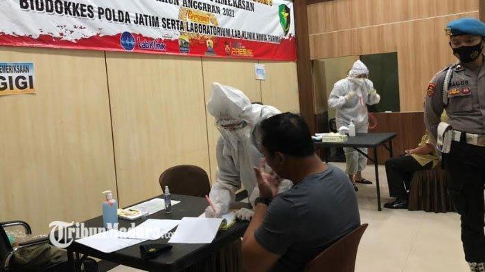 Demi Pastikan Personel Polri Sehat, 325 Anggota Polres Pamekasan Diperiksa Kesehatannya